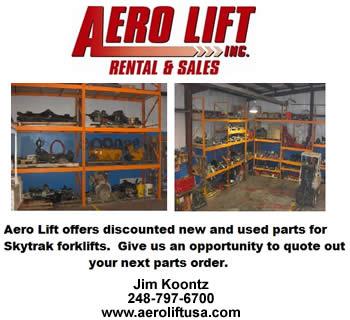 Aero Lift Rental & Sales