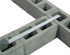 Z Strap Anchor Intersecting shear walls