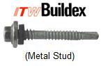 Buildex Metal Stud Scots Stainless Steel Fastener