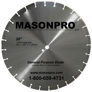 MASONPRO 20 inch blade