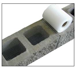 Grout Stop Grout Mesh