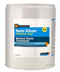 Sure Klean Weather Seal Natural Stone Treatment Wb
